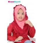 Adawiyah Instant Hoodie (Coklat + Purple)110-08