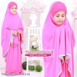 Telekung Sofea (Rose Pink) 113-16