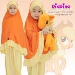 Telekung DiaDina (Orange Applejack) 120-11