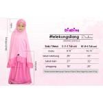 Telekung DiaDina (Pink Marshmallow) 120-02