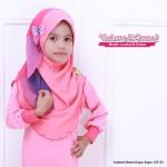 Instant Shawl Kupu-kupu (Pink Muda & Pink Gelap) 127-01