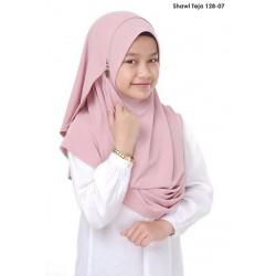 Shawl Teja 2.0 (Dusty Pink)  128-07