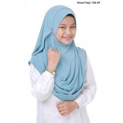 Shawl Teja 2.0 (Baby Blue)  128-09