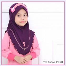 The Button  (Dark Purple/Pink)142-01
