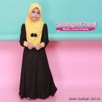 Jubah Syafiqah 162-01(Mustard)
