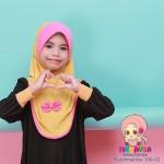 Factory Reject | Tudung Mashmallow Grade AAA  (Mustard + Pink)  R166-02