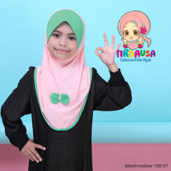 Factory Reject | Tudung Mashmallow Grade AAA  (Peach + Hijau Mint)  R166-10