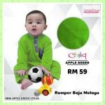 Romper Baju Melayu (Apple Green) 170-04