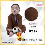 Romper Baju Melayu (Brown) 170-07