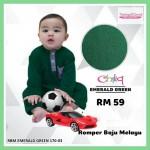 Romper Baju Melayu (Emerald Green) 170-03