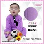 Romper Baju Melayu (Lavender) 170-08