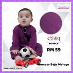 Romper Baju Melayu (Purple) 170-05