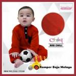 Romper Baju Melayu (Red Chili) 170-06