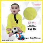 Romper Baju Melayu (Yellow) 170-01