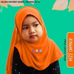 Hilzea Instant Shawl (Orange) 187-22