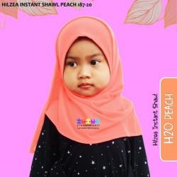 Hilzea Instant Shawl (Peach) 187-20