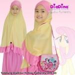 Telekung Diadina (Yellow Fluttershy) 195-03