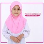 Factory Reject | Tudung Sekolah Rejek Kilang Grade AAA Pink R518-08
