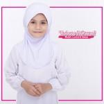 Factory Reject | Tudung Sekolah Rejek Kilang Grade AAA  Putih 518-11 (Size:SS)