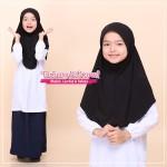 Factory Reject |Tudung Sekolah Rejek Kilang Grade AAA  Hitam R518-02