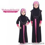 MyLove Premium (Hitam + Pink) 6008-08