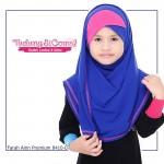 Instant Shawl Farah Ainn Premium (Blue) 8410-07