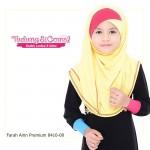 Instant Shawl Farah Ainn Premium (Kuning) 8410-08