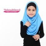 Instant Shawl Buble (Biru Muda) 8610-01