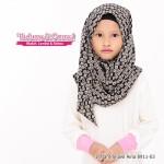 Instant Shawl Aina (Hitam) 8911-03