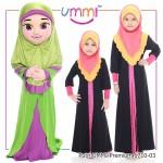 Putri UMMI Premium (Pink+kuning) 6710-03